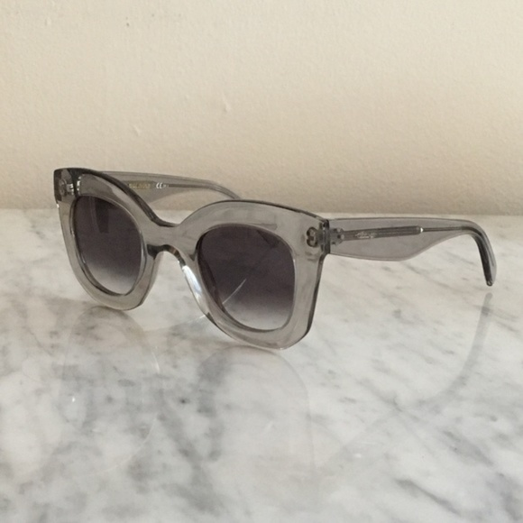 72f52a22598a Celine Accessories - Celine Marta baby clear lucite acetate sunglasses